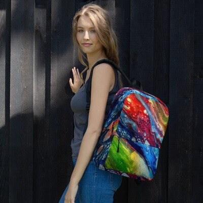 The Colors of the Wind Printed Backpack