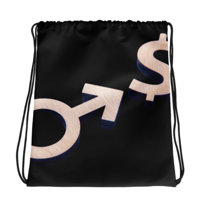 Callboy Sign Drawstring bag