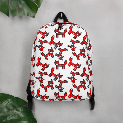 Fox Obsessed Minimalist Backpack