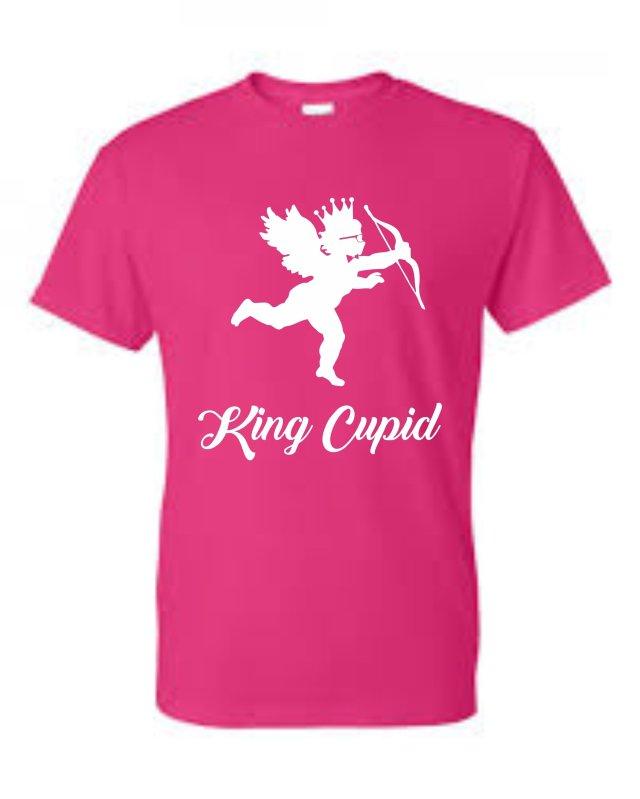 King Roscoe Valentine T-Shirt King Cupid 00017