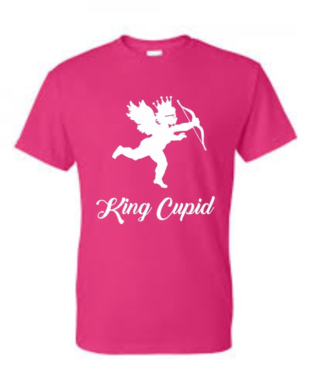 King Roscoe Valentine T-Shirt King Cupid 00017
