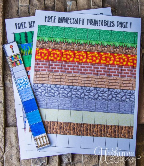 minecraft printable blocks # 65