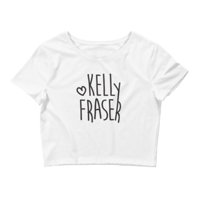 Kelly Fraser Women's Crop Tee