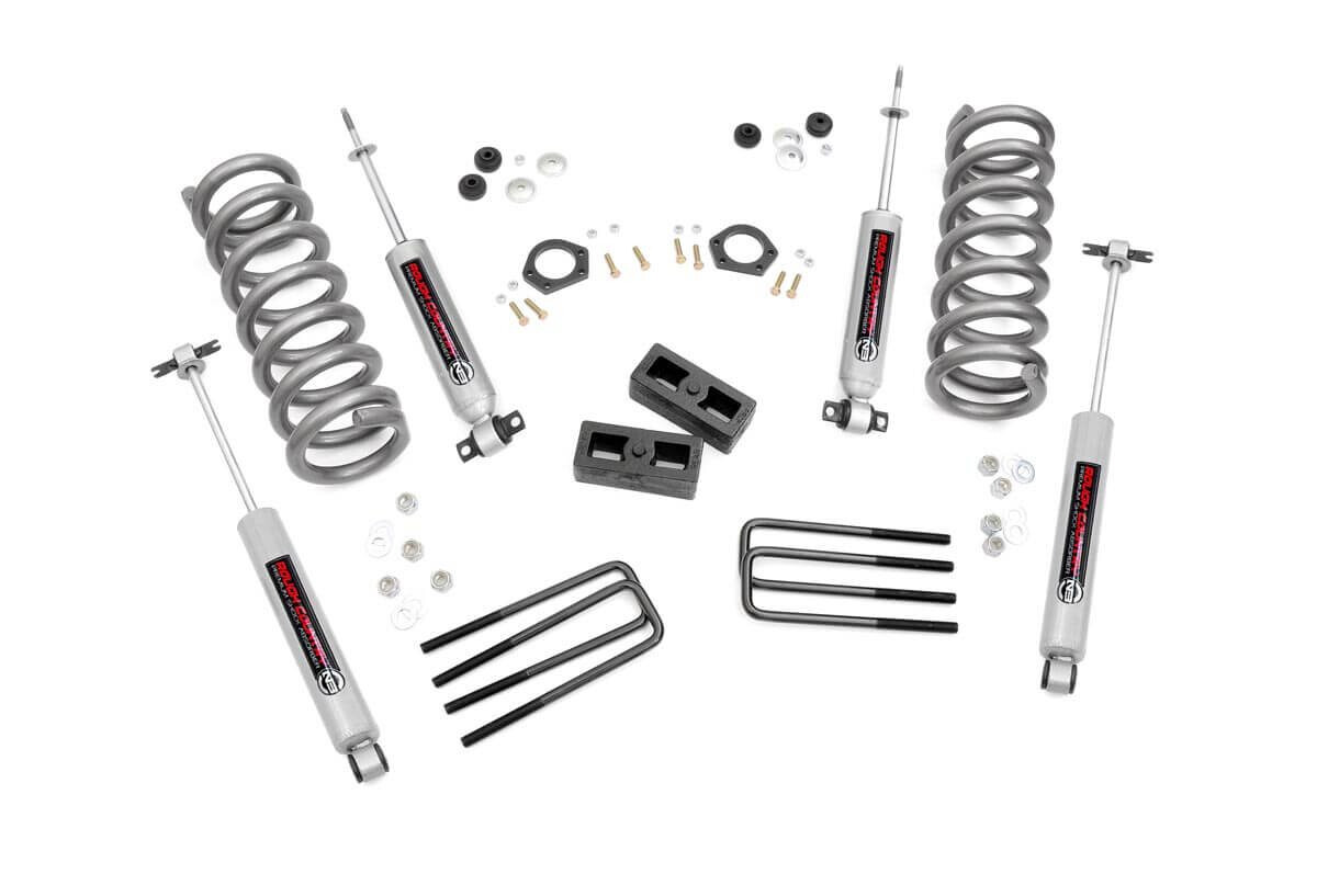 Rough Country 2 Inch Suspension Lift Kit For