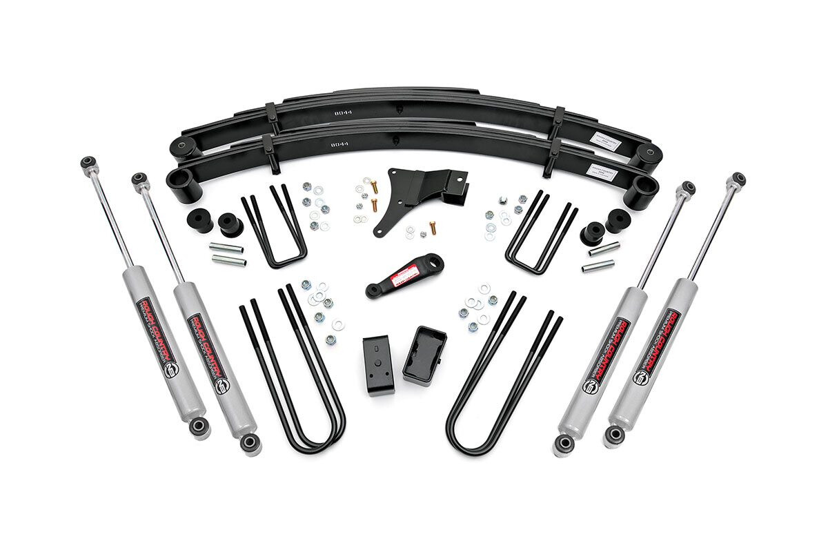 Rough Country 4 Inch Ford Suspension Lift Kit For 82 85 F
