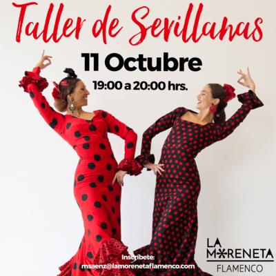 Taller de Sevillanas (1 clase)