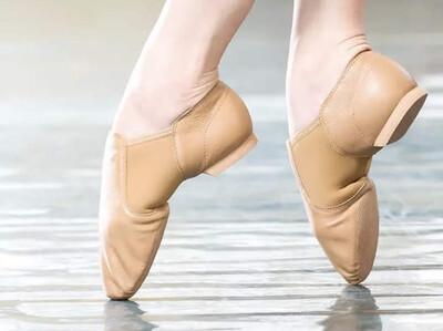 Zapatillas de Ballet color crudo (también disponibles en negro) N: 38