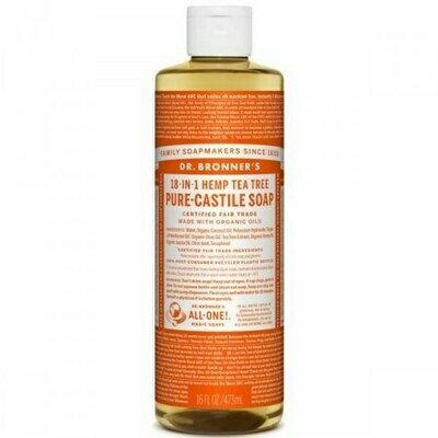 DR BRONNERS ΥΓΡΟ ΣΑΠΟΥΝΙ PURE CASTILE TEA TREE 240ml