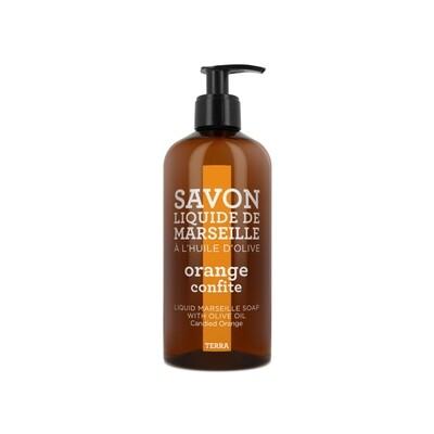 Compagnie De Provence 500ml Candied Orange, Terra Liquid Marseille Soap