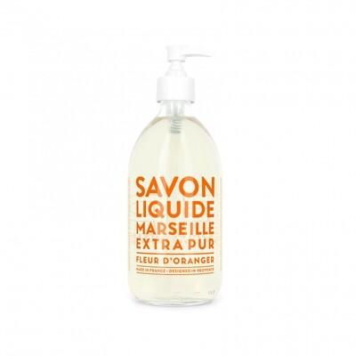 Compagnie De Provence 300ml Orange Blossom, Extra Pur Liquid Marseille soap