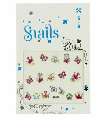 SNAILS NAIL STICKERS - PERFECT PRINCESS