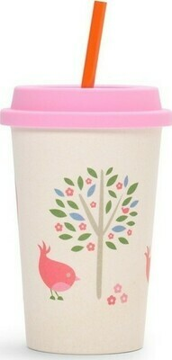 BAMBOO SIPPY CUP CHIRPY BIRD