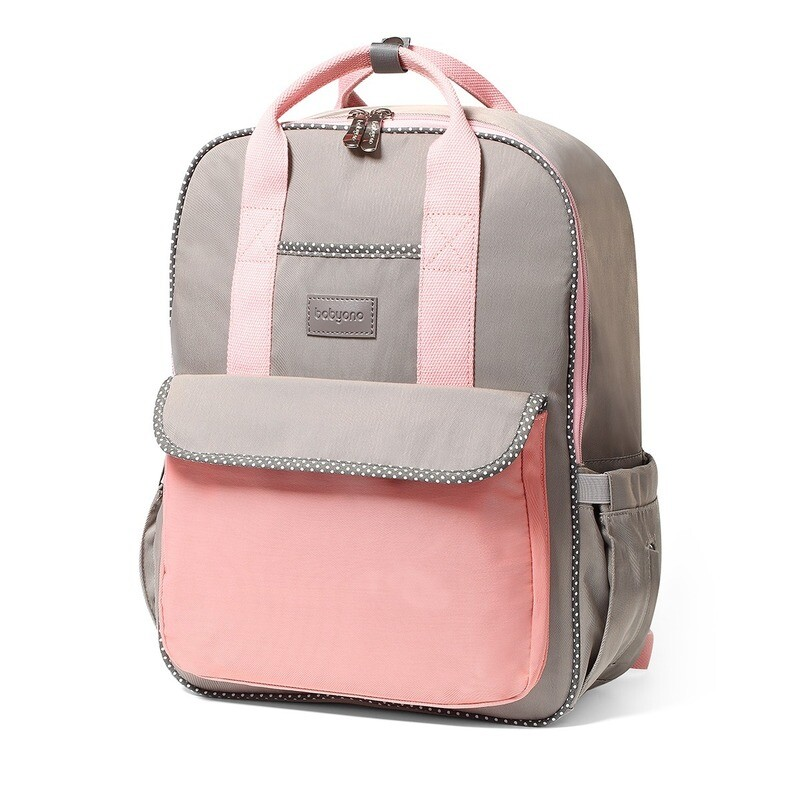 Diaper Mummy backpack LONDON LOOK pink