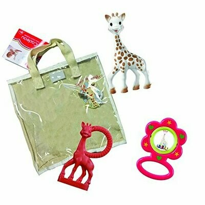 SOPHIE LA GIRAFE COTTON GIFT BAG