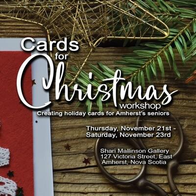 Creating Christmas Cards for Seniors - Ben Pitman, November 23 10am-Noon