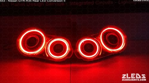 small resolution of nissan gtr 35 tail light led conversion ii