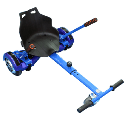 Blue HoverKart Go Kart Convertion For Hoverboard Segway