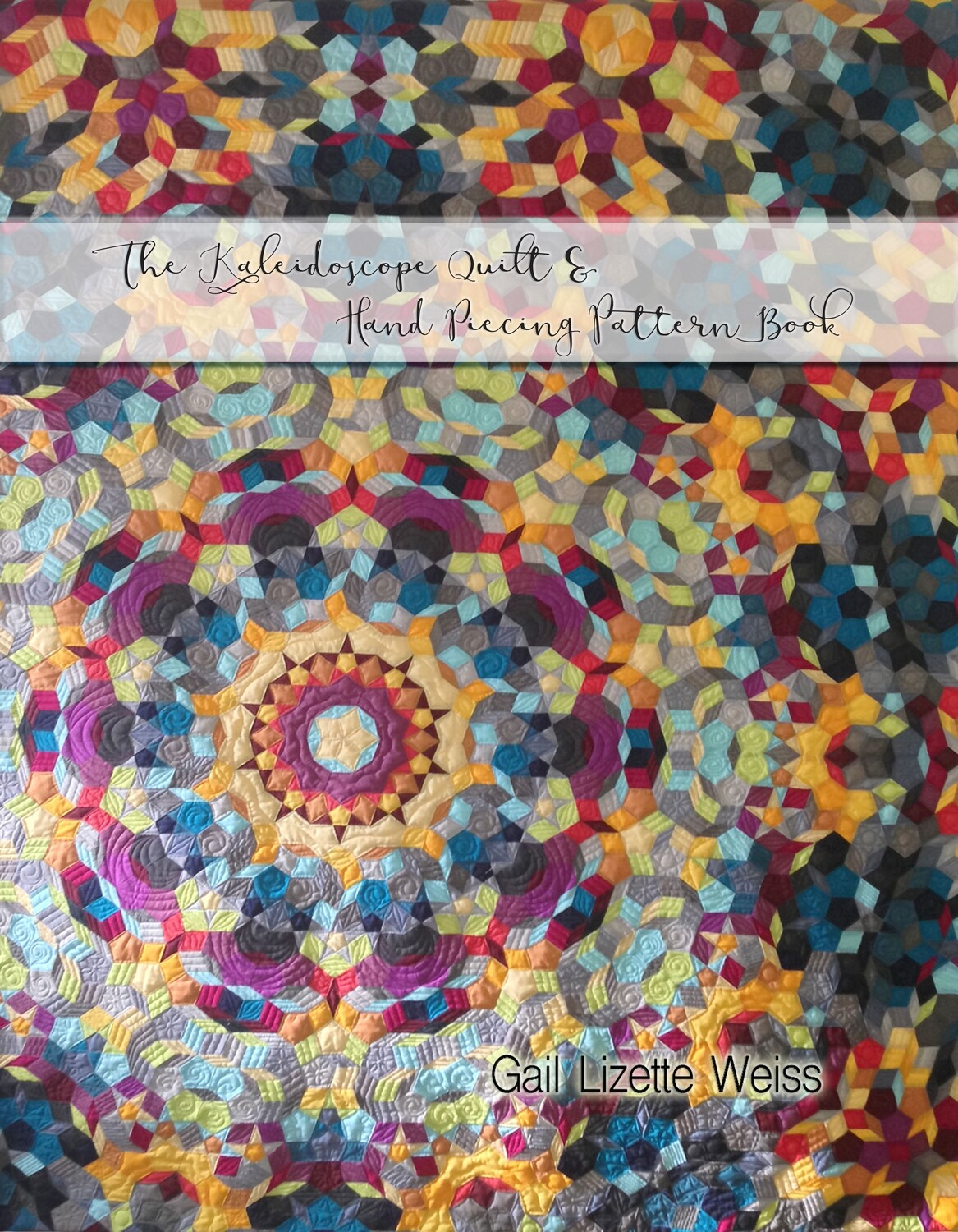 The Kaliedoscope Quilt PDF Pattern - for Hand Piecing