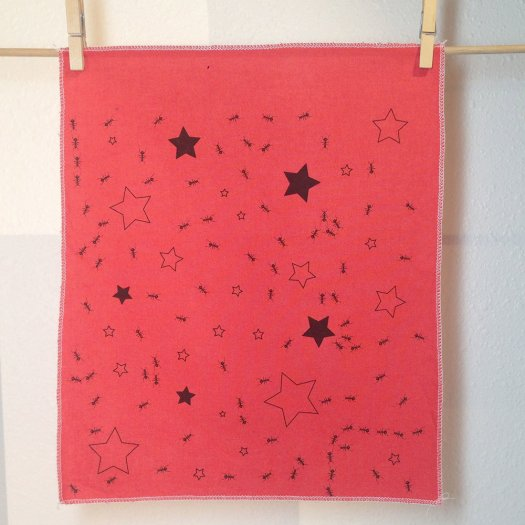 Ants In Stars Fabric Panels