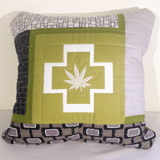Cannabis Pillow No.2
