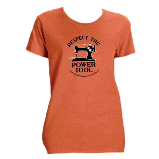 Respect The Power Tool* - Women's Tee Sunset AT01021