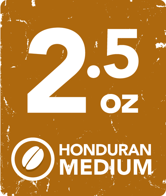 Honduran Medium - 2.5 Ounce Wholesale Labeling starting at: