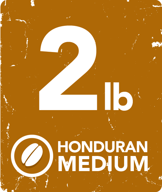 Honduran Medium - 2 Pound Bag 12224