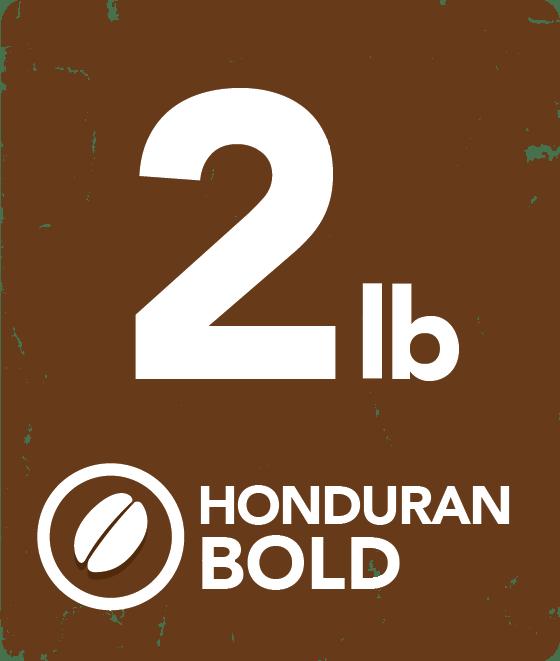 Honduran Bold - 2 Pound Bag 12124