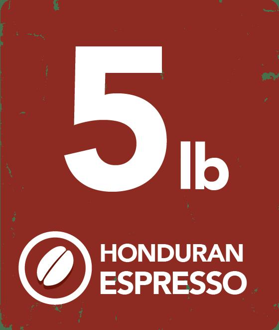 Honduran Espresso Blend - 5 Pound Bag 19140