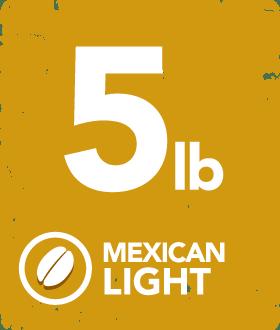 Mexican Light - 5 Pound Bag 14134