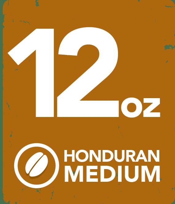 Honduran Medium - 12 oz