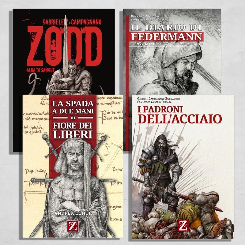 MEGA-BOX:  Tutti i Volumi Zhistorica