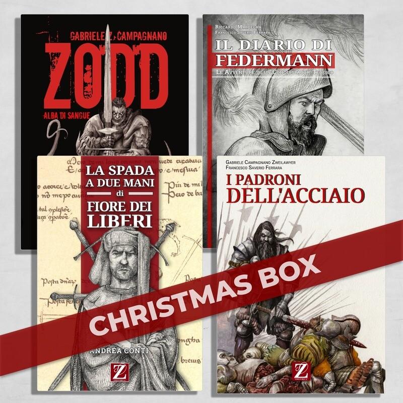 CHRISTMAS BOX:  Tutti i Volumi Zhistorica