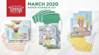 March No Matter the Weather Paper Pumpkin Kit & Free Stamp Set