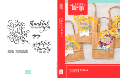 "August 2019 Paper Pumpkin Kit ""The Gift of Fall"" Kit"