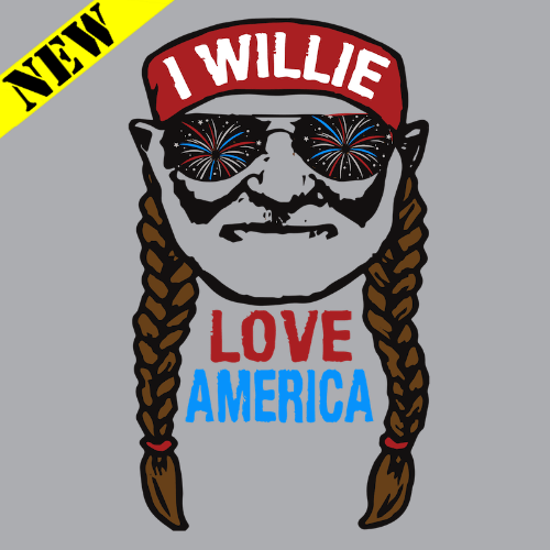 T-Shirt - Willie Love America