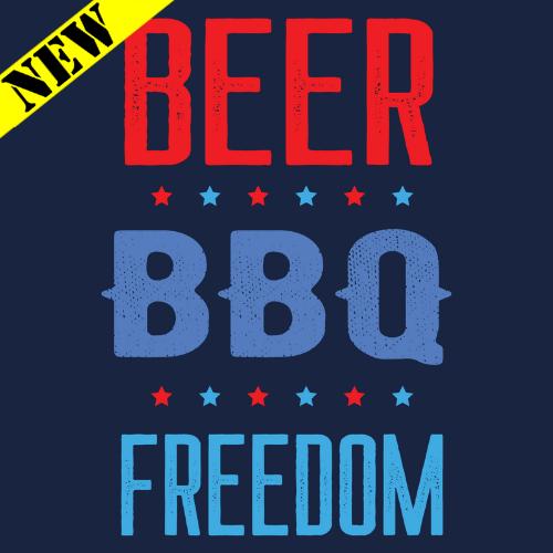 Tank Top - Beer. BBQ. Freedom.