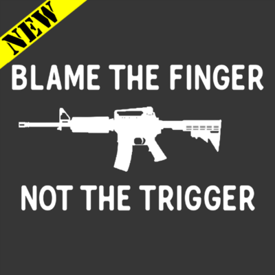 T-Shirt - Blame the Finger