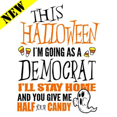 T-Shirt - Halloween Democrat (Ghost)