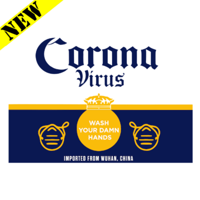 T-Shirt - Corona Virus Label