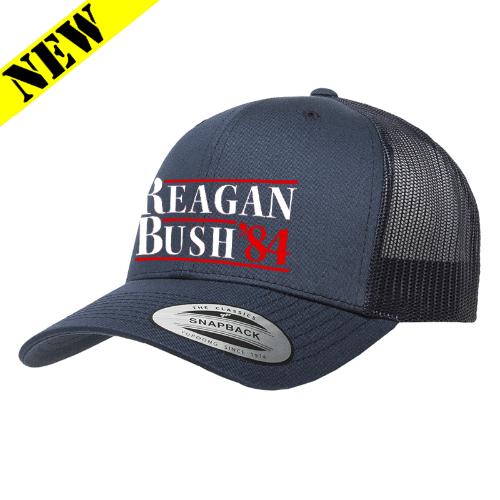 Hat - Reagan Bush '84