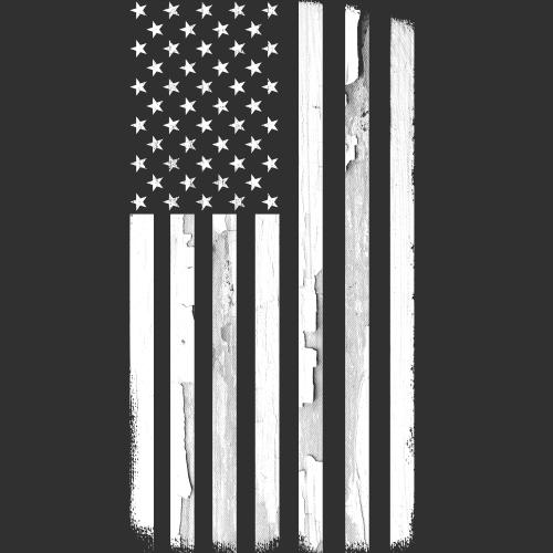 T-Shirt - Monochrome Flag