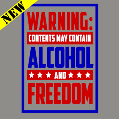 Tank Top - Alcohol and Freedom