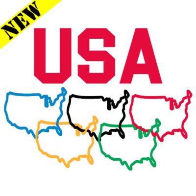T-Shirt - USA Rings