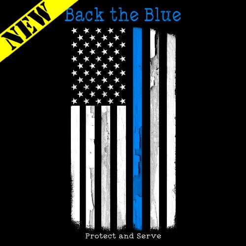 T-Shirt - Back the Blue