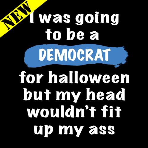 T-Shirt - Halloween Democrat