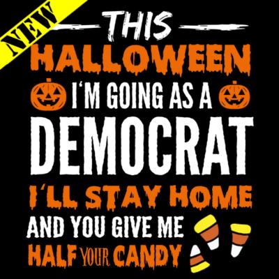 T-Shirt - Halloween Democrat v2