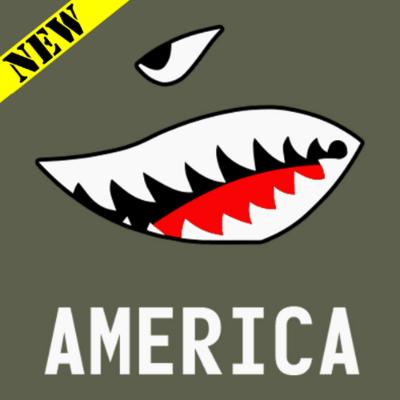 T-Shirt - American Bomb Face