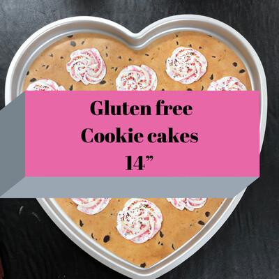 Valentines Cookie Cake