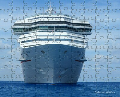 Jigsaw Puzzle - Ship - 60 piece